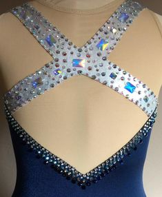 Items similar to Ice Dancing Dress, Competition Ice Dance Dress, Foxtrot Dress, Blue Waltz Dress on Etsy : Ice Dance Dress Custom Competition Foxtrot Dress/Waltz/Blues Ice Dance Dresses, Dance Outfits, Dress Patterns, Sewing Patterns, Hight Light, Figure Skating Dresses, Ladies Dress Design, Dance Costumes, Fashion Details