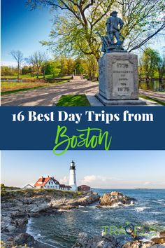 Best Day Trips from Boston Use this guide and visit Maine, New Hampshire, Vermont, Rhode Island and Connecticut all within 120 miles of Boston. You can see all the highlights of New England or dig in and visit lots of towns in Massachusetts! Usa Travel Guide, Travel Usa, Travel Tourism, Places To Travel, Travel Destinations, Places To Visit, Tonga, New Hampshire, Rhode Island