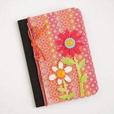 MINI NOTEBOOK  Summer Garden by PapersAndPetals on Etsy, $3.75