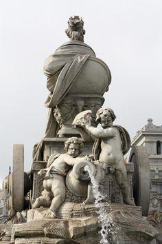Fuente de Cibeles, Madrid