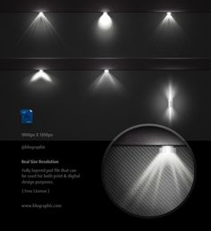 6 Psd Light Effects