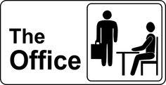 The Office TV Show Logo -- Andrew Lowen