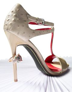 shoes / Whats new at #Macys Herald Square these are just Beautiful.. |2013 Fashion High Heels|