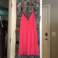 Sun Dress! This dress is super great for summer, it's so comfortable and flowing. I personally loved to wear this with a jean jacket for any summer parties! Hope someone else is able to enjoy this dress one day as well! Express Dresses Mini