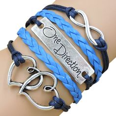 Material:Leather Chain Type:Rope Chain Length:17 cm(6.7 inches) Clasp Type:Lobster Metals Type:Zinc Alloy Shapepattern:Heart Bracelets Type:Charm Bracelets NOTE: ON PROMOTIONAL ITEMS PLEASE ALLOW 3-6