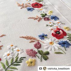 @vishivka_krestikom #broderie #bordado #embroidery #ricamo #needlework #handembroidery