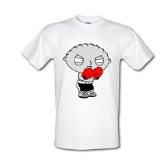 family guy t shirts | Family Guy Stewie T-Shirt, Stewie Boxing, Mens Tee