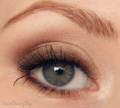 Desire Beauty Blog Tutorial: Braune Smokey Eyes für den Alltag