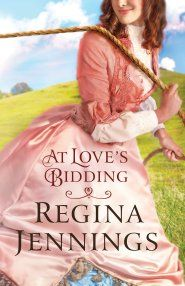 Book Bites, Bee Stings, & Butterfly Kisses: Book review:  At Love's Bidding by Regina Jennings...