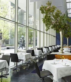 Our favorite al fresco restaurants across the globe: The Modern, New York. See more of our best garden dining picks here.