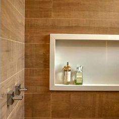 Nicho de banheiro #banheiro #nicho #casa #obra #arquitetura #design #quartzo #marmore