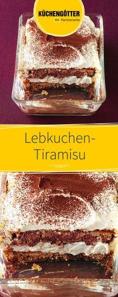 Rezept für glutenfreies Lebkuchen-Tiramisu