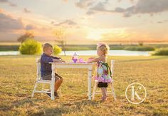 """Too precious not to share. Mr. B may not love this image when he's older but I know his beautiful mommy will. Reminds me of the quote """"Sometimes being a big brother is better than being a super hero."""" #texassunset #teaparty #bigbrother #mozimag #lemonadeandlenses #posepatch"""