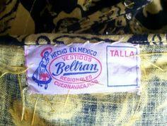 Beltran. Mexican dress, 1950s. Dorothea's Closet Vintage archives