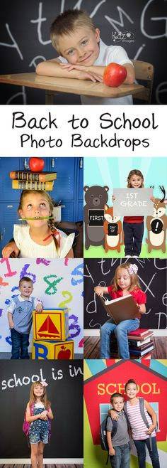 Don't settle for the traditional school portraits - spice up your school photos with a one-of-a-kind backdrop from Backdrop Express. Shop over 60 unique designs available in dozens of sizes & up to 5 materials.