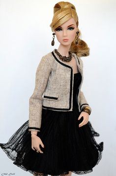 #Chanel outfit #Barbie