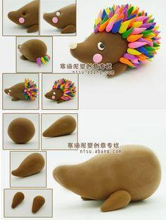 polymer clay animals tutorial - Cerca con Google