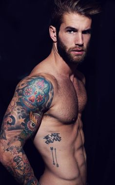 Andre Hamann bad ink, hot body.