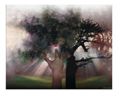The Tree of Good and Evil Prophetic Art, Good And Evil, Artsy Fartsy, Find Art, Framed Artwork, Christian, History, World, Youtube