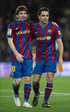 Best Football Players, Football Soccer, Xavi Hernandez, Messi 10, Dream Team, Fc Barcelona, Leo, Tatt, Real Madrid