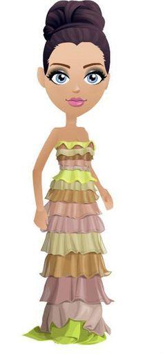 MALL WORLD (PINK DIAMOND DRESS): ~ELECTRINE FIELDS GOWN [NO.37]