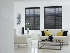 A wooden blind is the perfect window blind when it comes to natural style and design. With more and more people turning to wooden floors and furniture a wood blind at your window can be the ideal complement to the room. With fashion trends changing between light and dark wood it is important that we cater for all customer needs, from dark mahogany colours to the lighter beeches and oaks, to high gloss blacks and whites. Vitendi Wooden blinds come co-ordinating or contrasting tapes.
