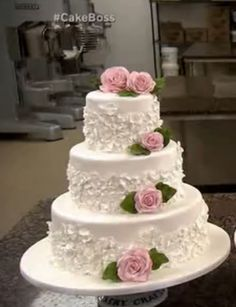 Cake Boss Wedding Cake:My favorite