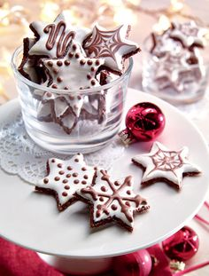 Mandlové kakaové hvězdičky