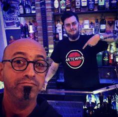 #t-shirt #artewiva #barman #palermo #morrisoncafè #first @giuliorosato