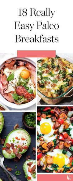18 Easy Breakfasts That Are on Your Paleo Diet #paleo #recipes #breakfast