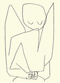 Paul Klee - Forgetful Angel