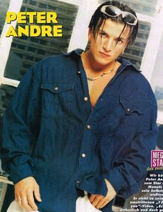 Peter Andre | 100 Forgotten Heartthrobs Of The '80s And '90s