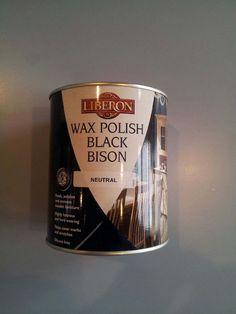 1 Liter! #BlackBisonWax #Liberon #Wax