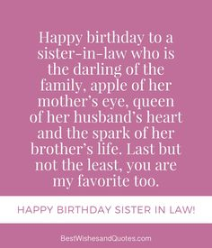 23 Best Happy Birthday Sister In Law Images Special Birthday