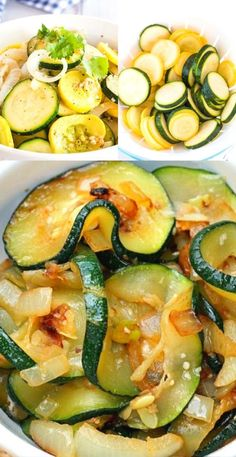 My little trick for taking some of the water out of the Zucchini before it's sauteed helps this side dish to saute up beautifully without being soggy.