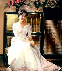 Empress Farah Diba Pahlavi.