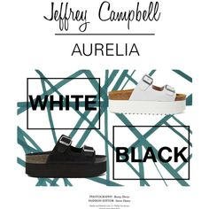 Aurelia Jeffrey Campbell by carlabcn on Polyvore featuring мода, Jeffrey Campbell and Kelly Wearstler