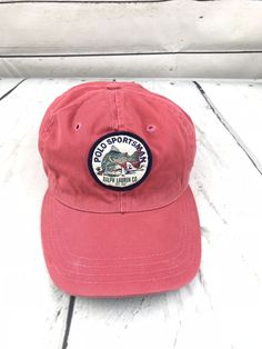 eb5797d615d Vintage Polo Ralph Lauren Sportsman Hat 90s Baseball Cap Cookie Stadium 92  93  fashion