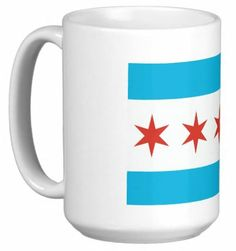 City of Chicago Coffee Mug by ThirtyFive55 | Sports World Chicago $17.95  #Chicago
