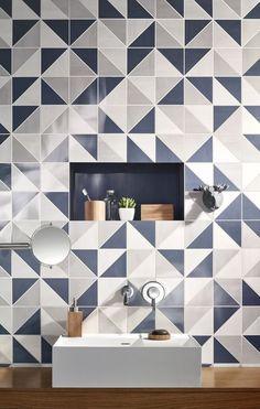 Какую плитку выбрать в маленькую ванную: 15 интересных идей