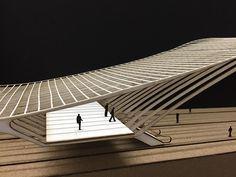 Project 2: Liege TGV Station, ARCH-314, Kratzer on Behance