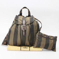 d3f5b84c81df Authentic FENDI Pecan Backpack PVC 10115240  fashion  clothing  shoes   accessories  womensbagshandbags (ebay link)