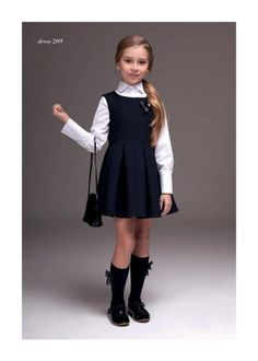 toddler school uniforms – Baby and Toddler Clothing and Accesories Toddler School Uniforms, School Uniform Outfits, Kids Uniforms, Outfits Niños, School Dresses, Uniform Ideas, Police Uniforms, Tween Fashion, Little Girl Fashion