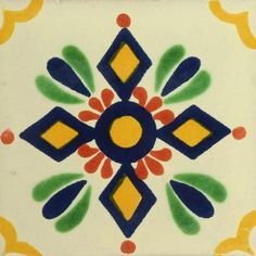 Traditional Deorative Mexican tile - Zapopan