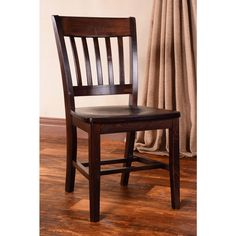 Library Wooden Side Chairs (Set of 2) - Overstock™ Shopping - Great Deals on Dining Chairs $209.99