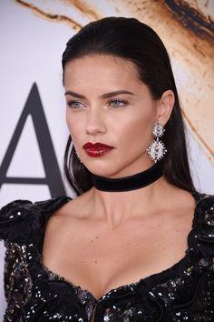 Adriana Lima - hair and makeup inspiration