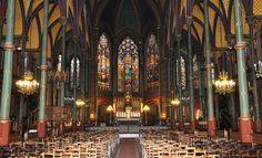 La nef de Saint-Eugène