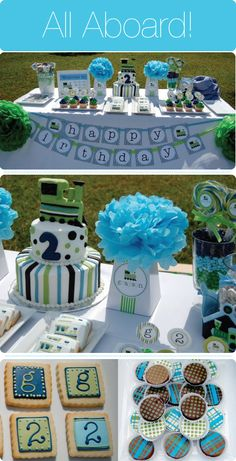 first birthday party ideas for boys | ... Baby Showers , Boy Baby Showers , Entertaining , Kids Birthday Parties
