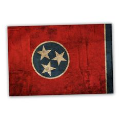 Tennessee 18x12 National Patriotic Flag Ready to Hang Printed on