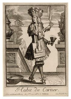Habit de Cartier Costumes Grotesques  (vers 1700) Nicolas Larmessin (1640-1725)